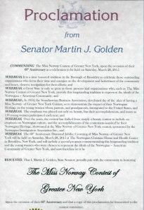 MissN-proclamation