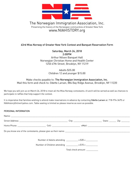 NIA_Miss_Norway_2018_Reservation_Form
